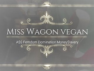 Condoms arent vegan - Miss wagon vegan ass domination - sgancia il cash