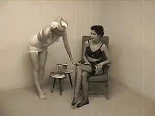 Vintage underwear british Women in vintage underwear
