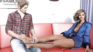 The Adventurous Couple: Erotic Happy Ending Massage-Ep3