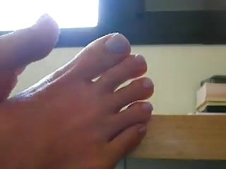 Toes to cock up - Sexiest feet adn toe ever seen