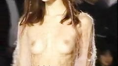 Oops Lingerie Runway Show See Through And Nude On
