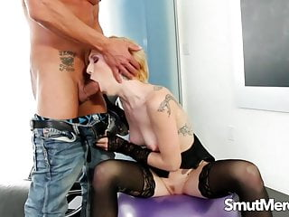 Maia campbell porn video - Inked cumslut maia davis cant get enough of his fat cock
