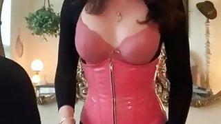 Sexy Ts Kendall fucks her sub very hard again