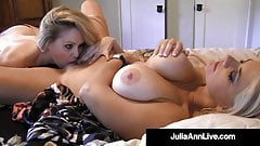 Beautiful Cunt Craving Cougars Julia Ann & Vicky Vette Cum!