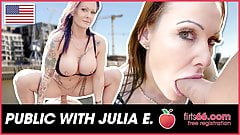 German milf JULIA EXCLUSIV enjoys a young cock! Flirts66.com