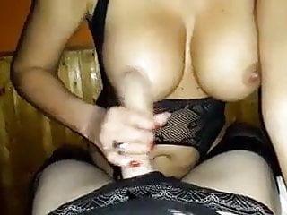 Best big tit Handjob an best big tits