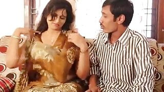 Indian mom with step son friend hot