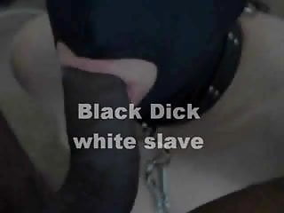 White slaves black bdsm Black dick, white slave