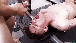 Horny guy cumpilation - part 1