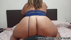 Latina Girl With Huge Ass Rides On Big Cock