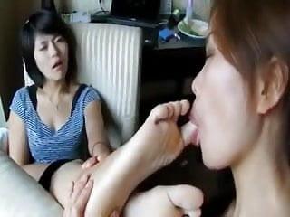 Medical fetish fantasies Asian girls fulfill their foot fetish fantasies