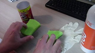Make your own Pussy or Anal Fuck Toy (DIY FLESHLIGHT)