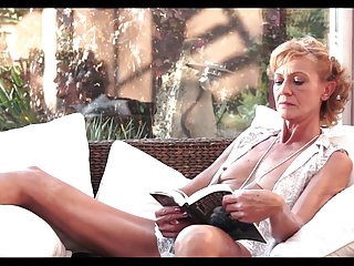 Hairy sensualwriter Slim hairy granny and young boy