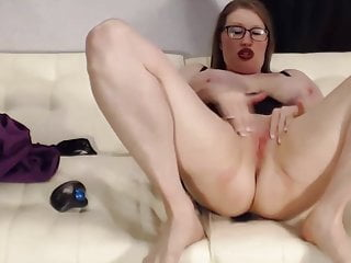 Balck snake moan video boob Loud moaning curvaceous wife with glasses and huge boobs
