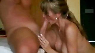 Fucking a hot married MILF