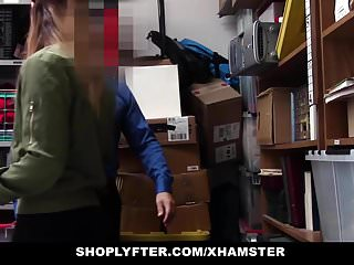 Penis inspection - Shoplyfter - stripped down and inspected for stealing