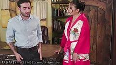 Big Ass Small Tit Asian Teen Massage, Rough Sex & Ur Cumshot