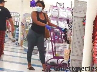 Ebony freaks sex videos Candid ebony freak with a nice booty see thru spandex
