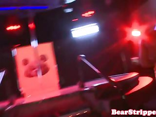Beautiful strippers naked - Beautiful babe pussy fucked by bear stripper