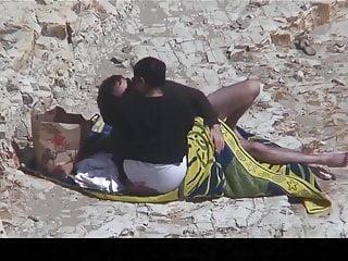 On the beach sex Estrangeiro - hidden cam couple, bbw in the beach sex