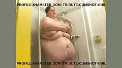 SEXY SSBBW IN THE SHOWER.