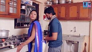 indain telugu soni priya romance in kitchen
