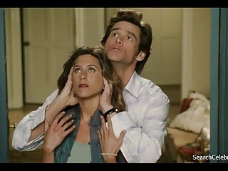 Bell breast catherine photo Jennifer aniston and catherine bell - bruce almighty