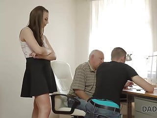 Old have sex with young girls Daddy4k. boyfriend caught girl having old and young sex with