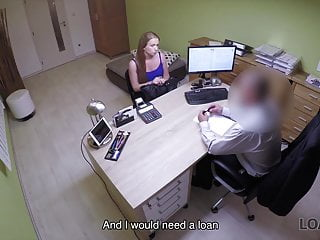 Woman sells virginity for college Loan4k. bewitching college girl sells her smooth pussy for..