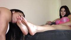 Slobbery Foot Worship