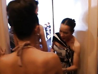 Teens fashion hotline - Thai fashion show backstage