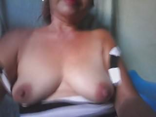 Granny fuck me - Mature 59 year old filipino fucking for me on cam