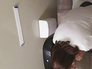 Pissing on a flat rock Gas station toilet voyeur xxii milf in peep-toe flats