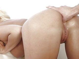 Anal facial tit - Big tits blonde hard anal facial