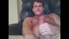 sexy dad with a thick load