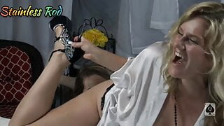 Two Cougars Filmed at Swingers Fuck Party 1