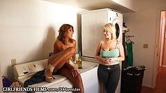 Curvy Lesbian Girlfriend Cheats by Tribbing
