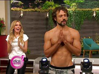 Teen celebrity thong Sexy yoga thong tv show