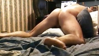 Pillow humping fast orgasm