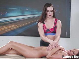 Nikki warner lesbian - Lesbian massage with kasey warner and tara ashley