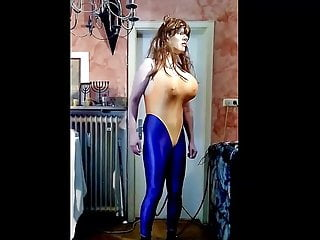 Porn tube lycra Full lycra bimbo boobs and ass expansion