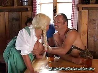 Heidi klum busty - Hard dp with busty heidi