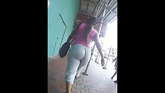 Wedgielicious Teen Candid Phat Booty with Jiggle & Bounce
