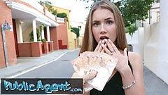 Public Agent Beautiful Russian Mary Rock fucking