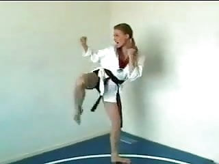 Karate nude - Female karate fetish - 9