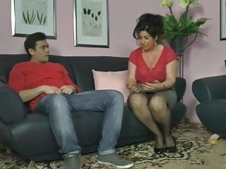 How to make a penis big German mom shows boy how to make a woman cum