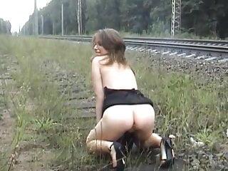 Tiy russian nudes Nude in public