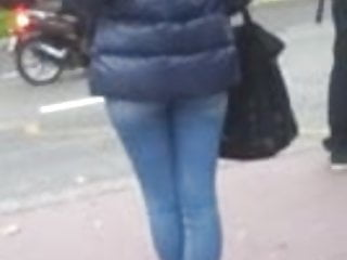 Hill street blues nude connie - Candid street, blue shiny jacket