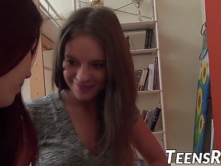 Bare girl teen - Barely legal teens seducing each other before fucking