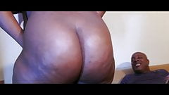 Ambitious Booty sexy big black ass